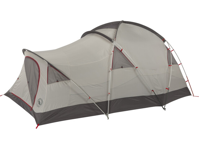 Big Agnes Mad House 8 Tente, red/gray